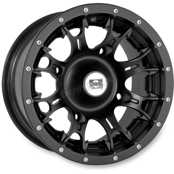 DWT Douglas Wheel 12 in. Black Diablo Wheel - 991-35B