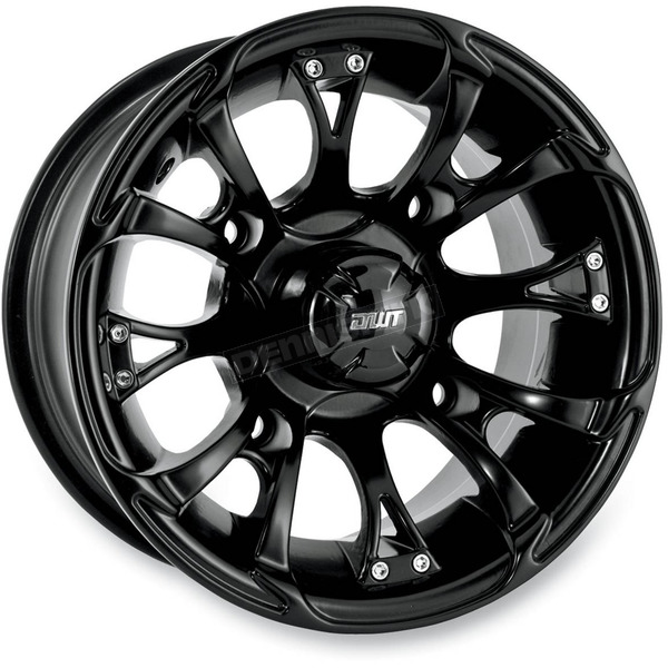 DWT Douglas Wheel 12 in. Black Nitro Wheel - 989-35B