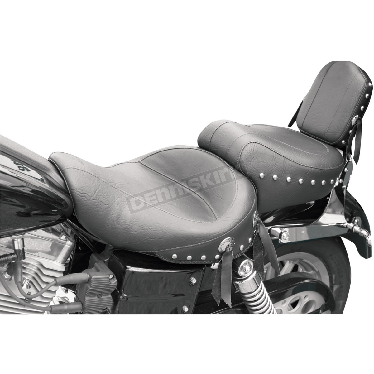 Mustang seats super wide studded touring seat 75435