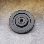 Black Idler Wheel w/Bearing - 0411676