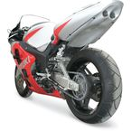 Superbike 2 Rear Silver Undertail Fender Eliminator - S02GSSBSIL