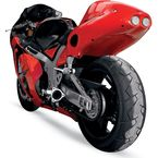 Superbike 2 Rear Red Undertail Fender Eliminator - S04BU-SB-RED07