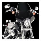 Classic Deuce Gradient Black Windshield - MEM2121