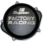 Factory Racing Black Clutch Cover - CC-07B