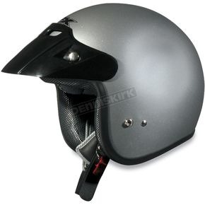 AFX Youth FX-75 Silver Helmet - 0105-0007