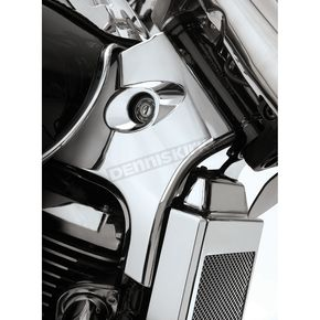 Show Chrome Chrome Neck Covers - 82-201