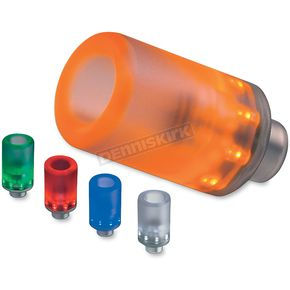 Diamond Powersports Light-Up Translucent Amber Frame Sliders - 107462A