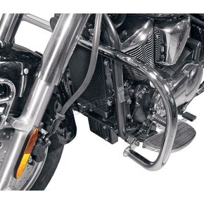 MC Enterprises Full Size Chrome Engine Guards - 1000-49