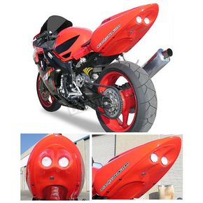 Hot Bodies Racing Superbike 2 Rear Red Undertail Fender Eliminator - H02F4-SB-RED