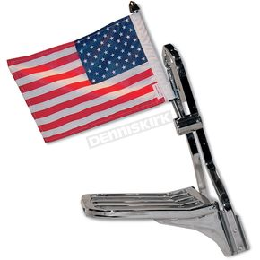 Pro Pad Square Sissy Bar Flag Mount - RFM-SQSB15