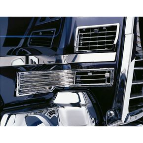 Show Chrome Hot Air Vents - 52-557