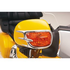 Show Chrome Mirror Back Accent Grilles - 52-628