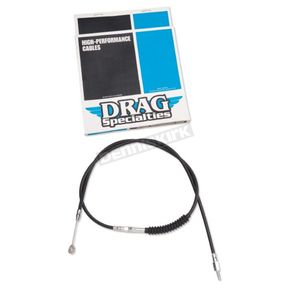 Drag Specialties Black Vinyl High-Efficiency Clutch Cable - 0652-1388