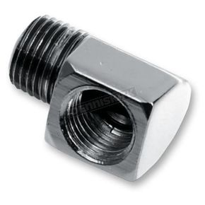 Russell 90 degree, 1/8 in. male NPT to 1/8 in. Female NPT Hose and Tank Fittings - R70123B