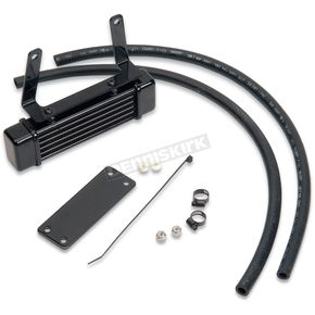 Jagg Black Horizontal Mount Oil Cooler - 1290