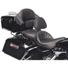 Saddlemen Road Sofa Deluxe Touring Seat with Driver Backrest and Tour-Pak Backrest Pad Cover - D993J