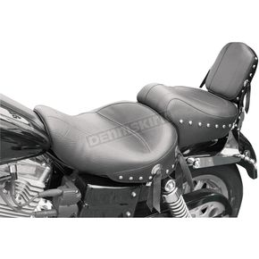Mustang Seats Super Wide Studded Touring Seat - 75109