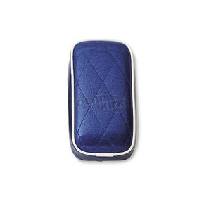 LePera 5 in. Wide Pillion Pad For Solo Seats  - L-102-BLUE