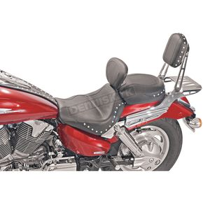 Mustang Studded Sport Touring Seat with Driver Backrest - 79270