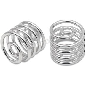 Drag Specialties 2 in. High Chrome Seat Springs - 0820-0010