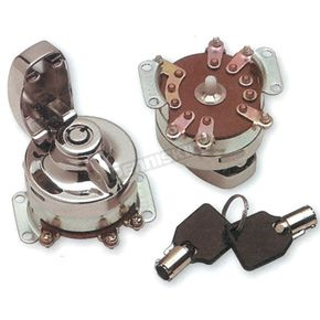 Drag Specialties Round Key Internal Contact Switch - 0909-0202