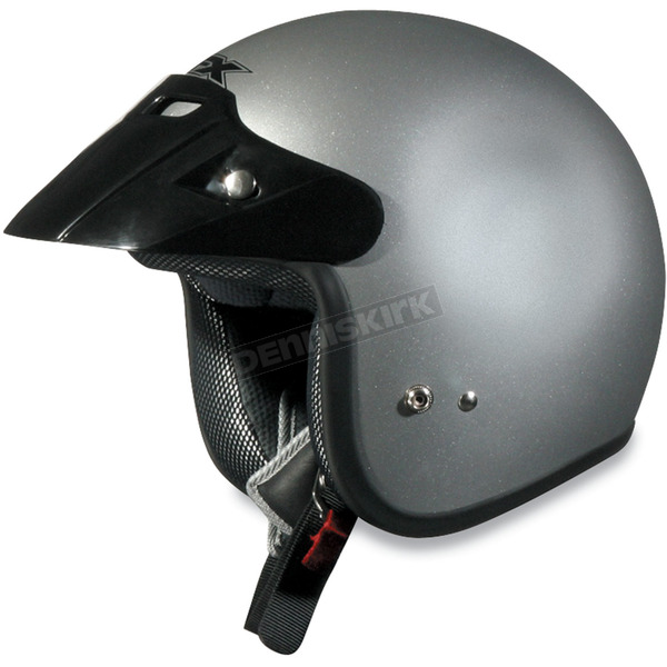 AFX Youth FX-75 Silver Helmet - 0105-0005