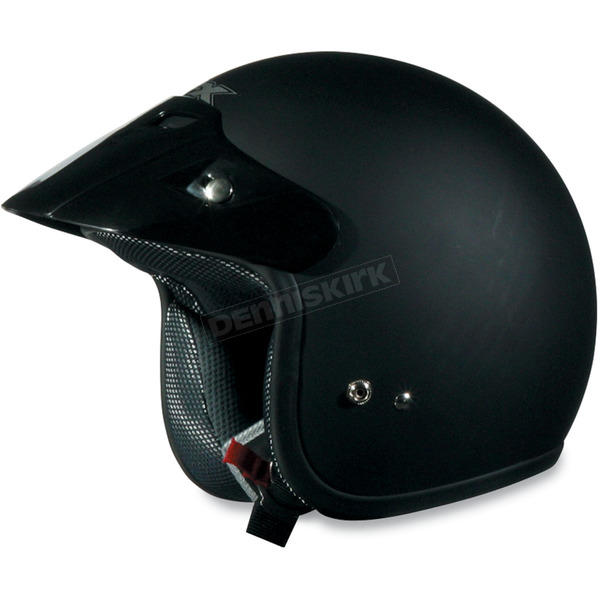 AFX Youth FX-75 Flat Black Helmet - 0105-0009