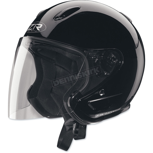 Z1R Ace Black Helmet - 0104-0186