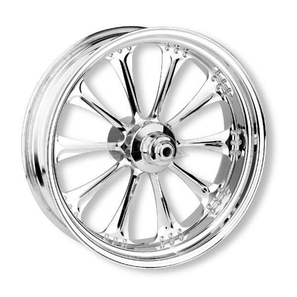 Performance Machine Front Chrome 23 x 3.5 Paramont One-Piece Wheel w/ABS - 12237306RPARCH