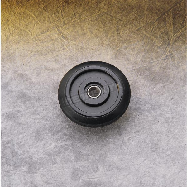 Parts Unlimited Black Idler Wheel w/Bearing - 4702-0068