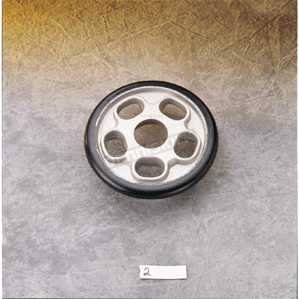 Parts Unlimited Silver Idler Wheel w/o Bearing - 04-116-96
