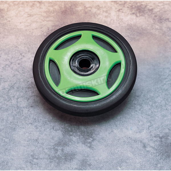 Parts Unlimited Green Idler Wheel w/Bearing - 0420011