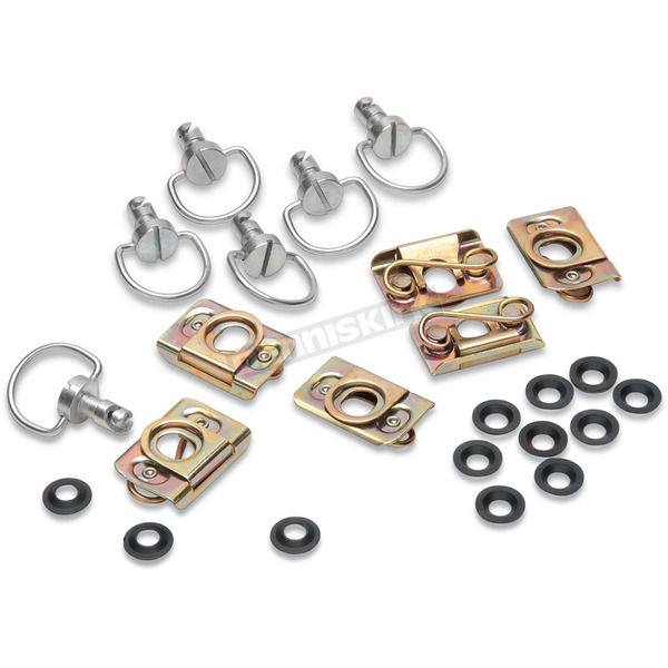 Cycle Performance Fiberglass D-Ring Kit w/Clips - CPP/9030