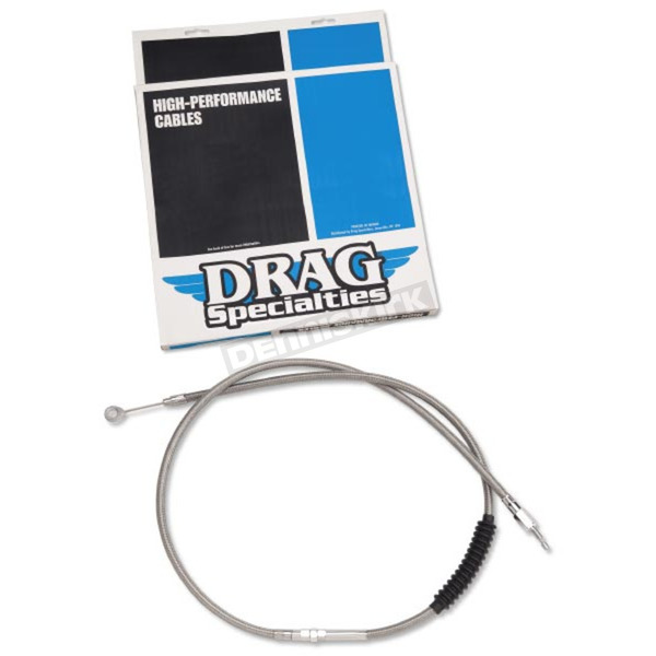 Drag Specialties Braided Clutch Cable - 0652-1483