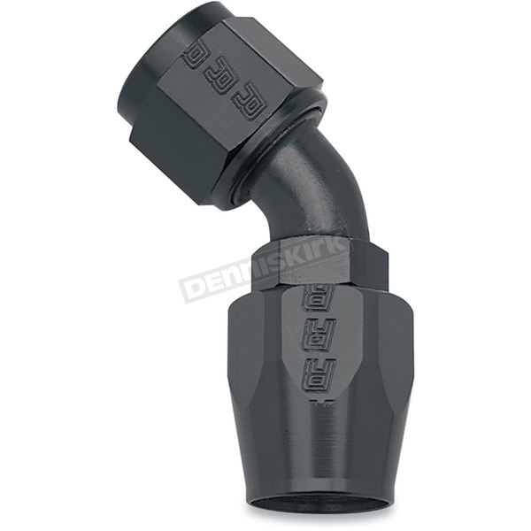 Russell -6, 45 degree Swivel Tube Hose End - R13093B