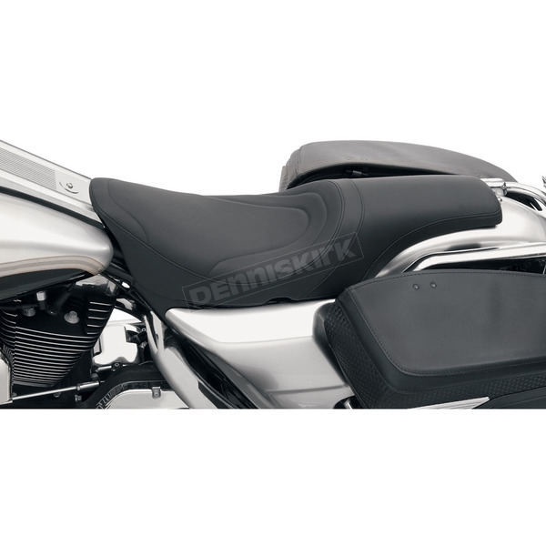 Drag Specialties 10 1/2 in. Wide Mild Stitch Predator Solo Seat - 0801-0214