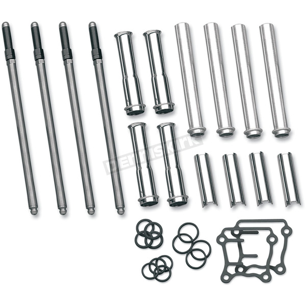 S&S Cycle Adjustable Pushrod/Cover Kit - 93-5095
