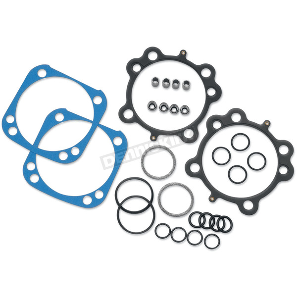 S&S Cycle Top End Gasket Set - 4 1/8 in. bore for 124 in. Hot Set Up Kit - 90-9510