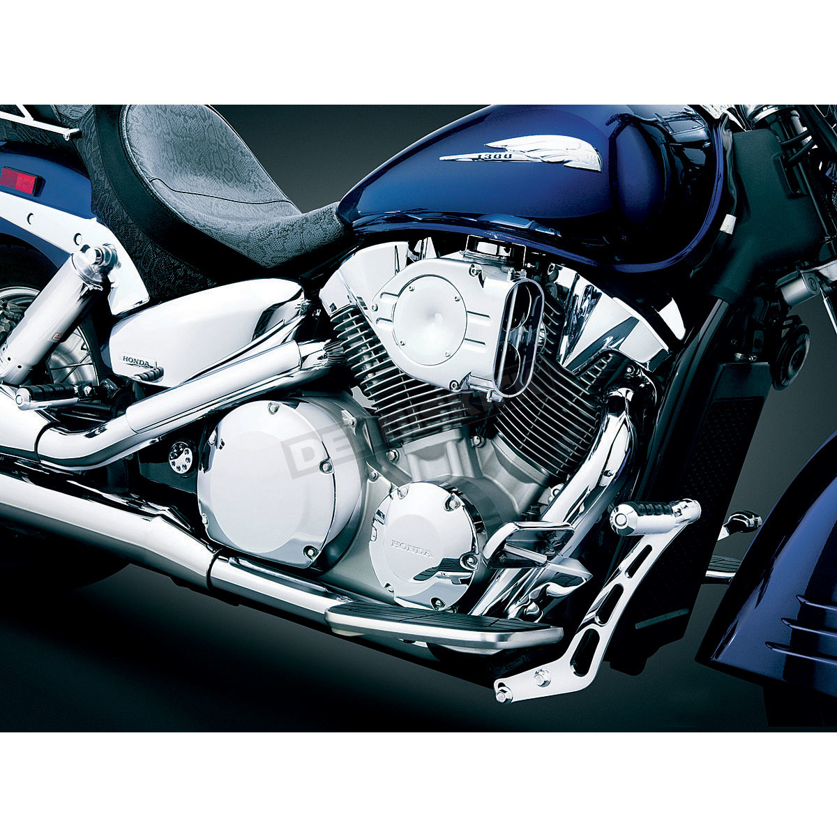 Air Cleaners For Motorcycles : Kuryakyn hypercharger air cleaner cruiser
