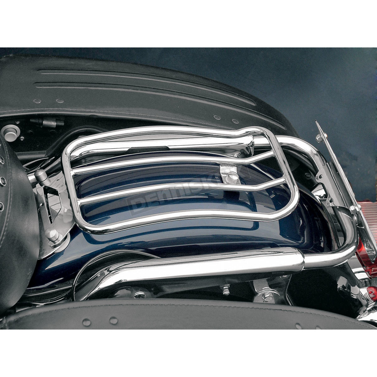Steel chrome Solo Seat Luggage Rear Fender Rack Fits For Harley Road King FLHR Electra Glide FLHTC