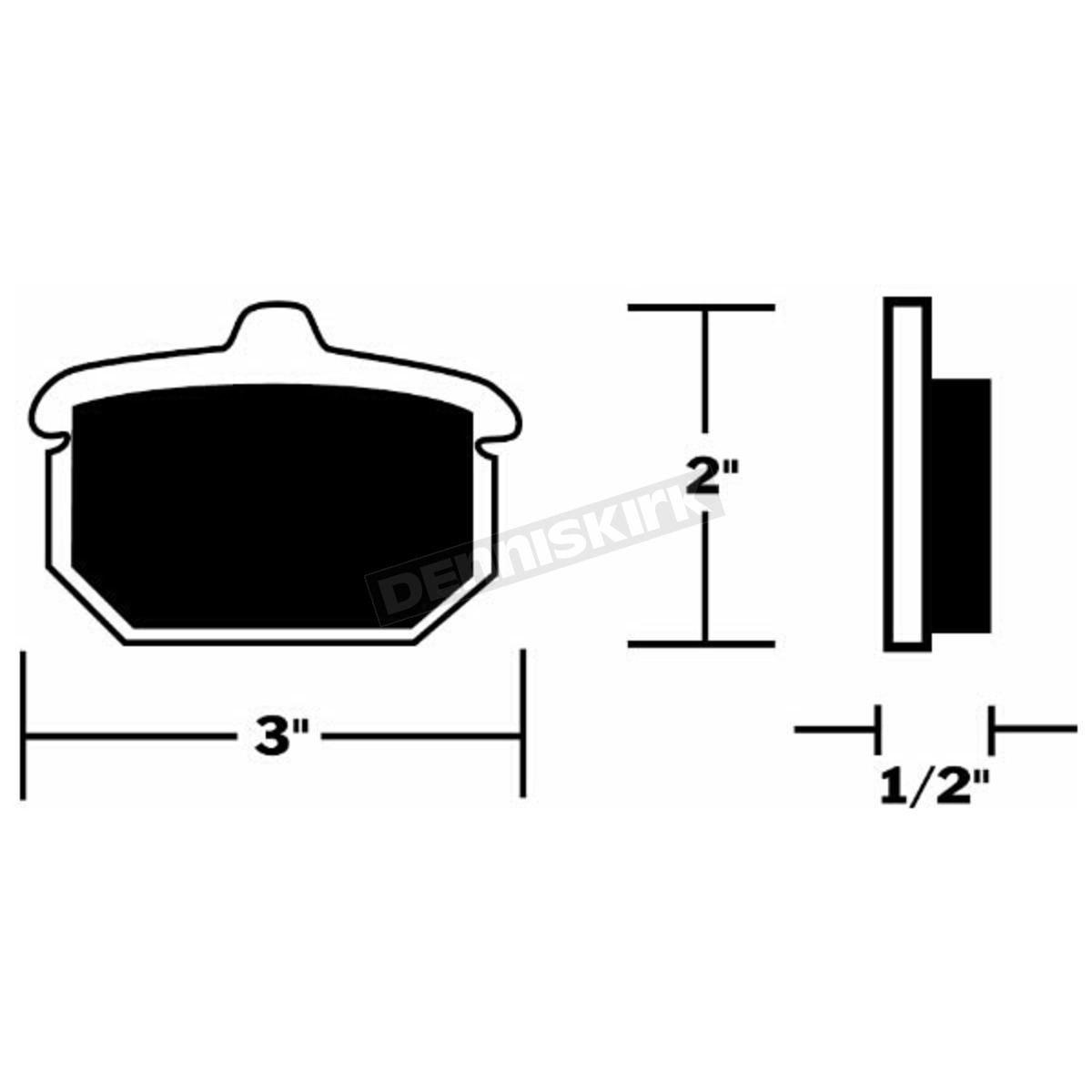 Drag Specialties Semi Metallic Brake Pads Ds 325006 Harley Harleydavidson Motorcycles This Diagram Provides A Parts Detail For