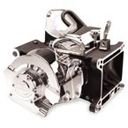 Polished 6-Speed Right Side Drive Transmission w/Hydraulic Clutch - 8253