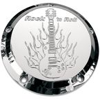 5 Hole Rock and Roll Chrome Billet Derby Cover - 06-99RR