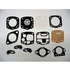 Carburetor Diaphragm and Gasket Kit for Walbro WR, WD, and WDA Carbs - 451410