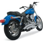 Chrome Big Radius Exhaust System - 26007