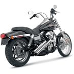 Chrome Sideshots Exhaust System - 26001