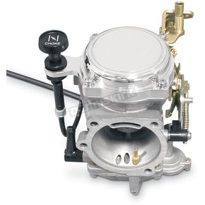 Yost Performance CV40/44 Carburetor Smooth Top Cover w/Choke Cable Bracket - YCCB-NL