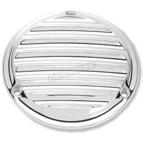 Roland Sands Design Chrome 3-Hole Nostalgia Derby Cover - 0177-2009-CH