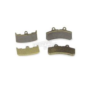 Lyndall Racing Brakes Gold Carbon/Kevlar Brake Pads - 7141G