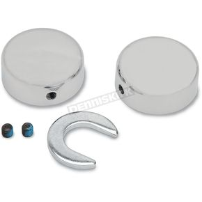 Drag Specialties Swingarm Pivot Bolt Covers - 1303-0025
